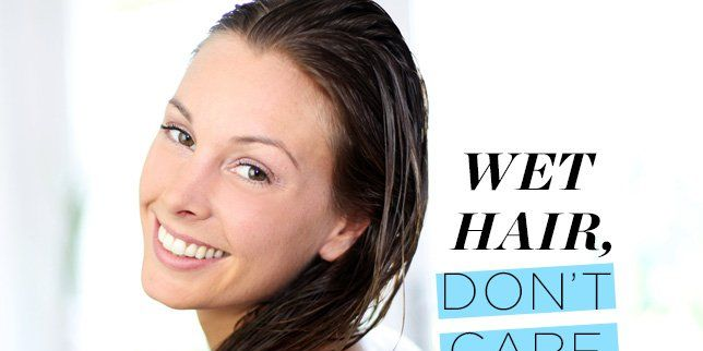Styling Wet Hair: 7 Gorgeous Ways To Style Wet Hair