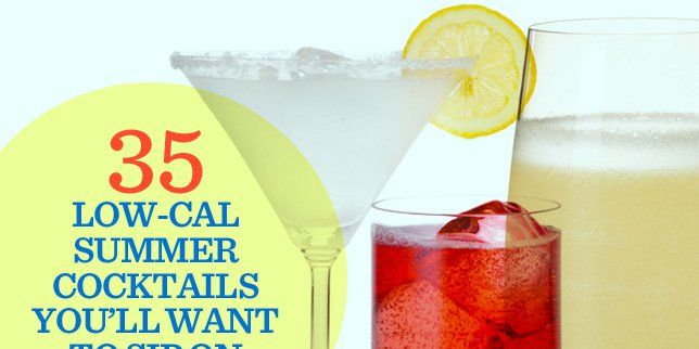2e0d9a56c8b 35 Low-Cal Summer Cocktails You'll Want to Sip on Every Day