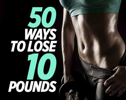 50 ways to lose 10 pounds