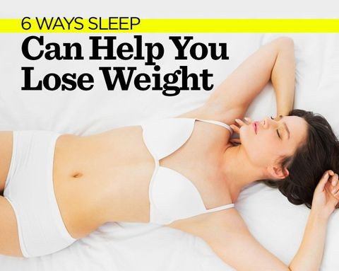 6 Ways Sleep Can Help You Lose Weight
