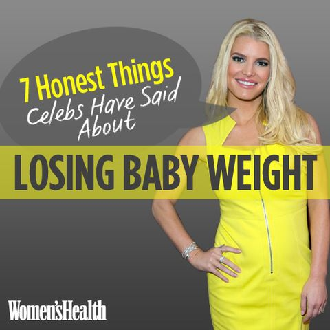 7 Honest Things Celebs Have Said About Losing Baby Weight