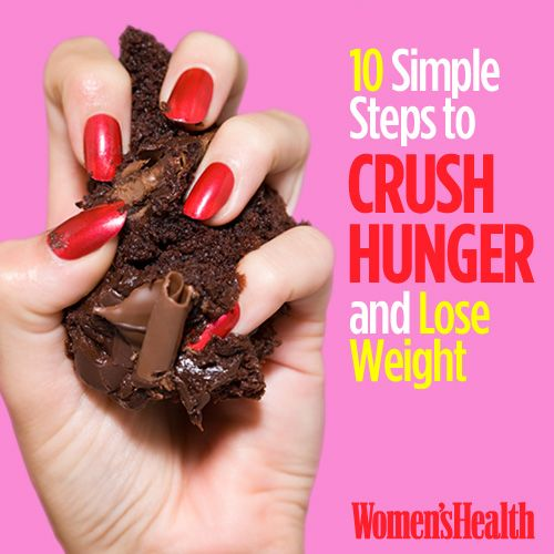 10 Simple Steps to Crush Hunger and Lose Weight
