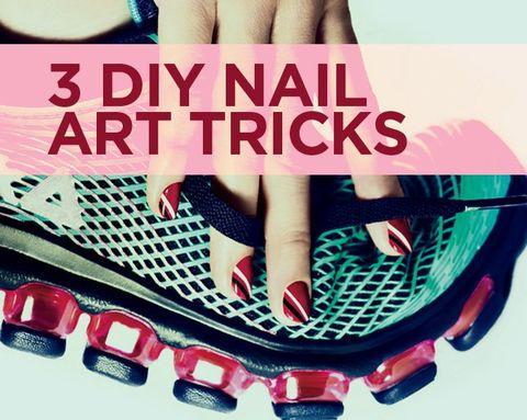 3 Creative New Nail Art Designs, Step By Step