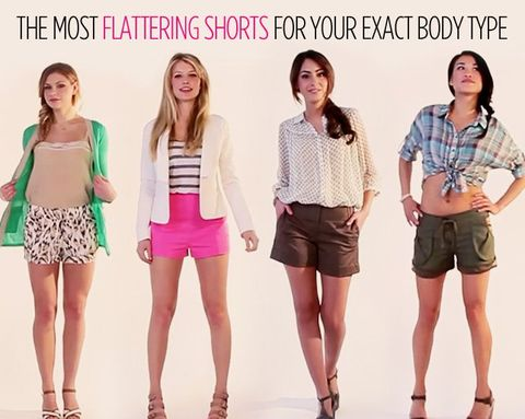 The Most Flattering Shorts for Your Exact Body Type