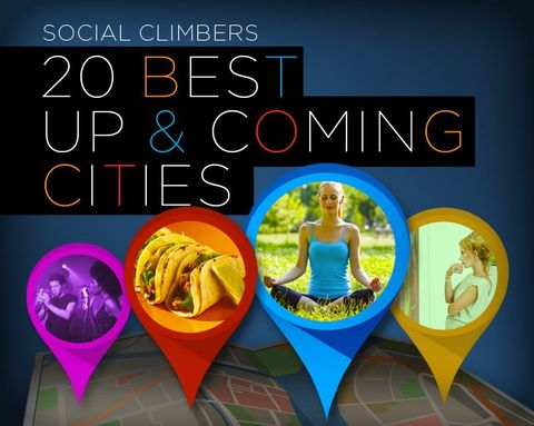 Social Cities: The 20 Best Up-and-Coming Cities for Every Social Scene
