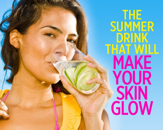 The Summer Drink That Will Make Your Skin Glow