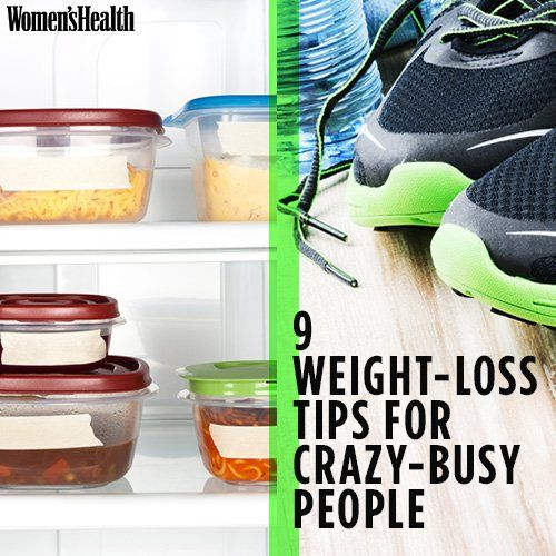 9 Weight-Loss Tips for Crazy-Busy People