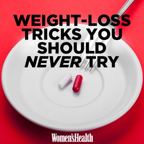 8 Weight-Loss Tricks You Should NEVER Try