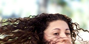 Break Up Healing with Yoga: Woman Hair in Wind