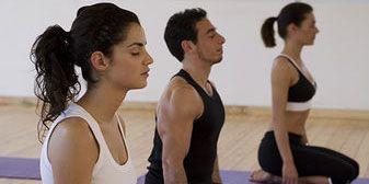 Heal Head Colds: Women doing yoga