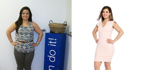 Natalie Camacho before and after weight loss