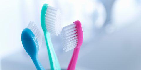 Overbrushing your teeth