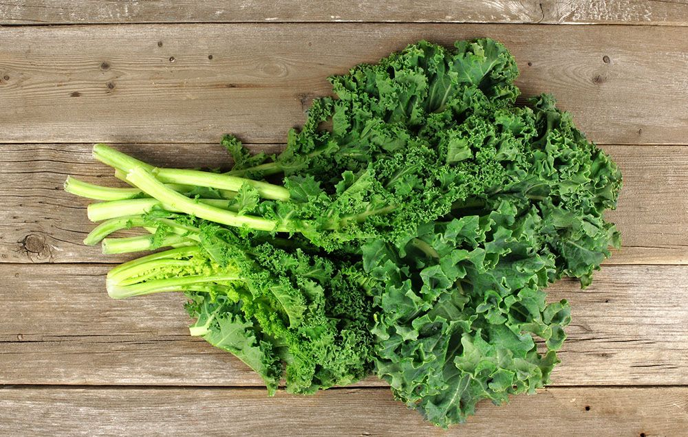 What are the health benefits of eating kale