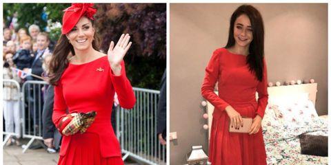 kate middleton fashion imitation dupe great replikate