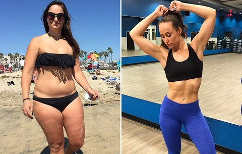 I Set Out To Get A Revenge Body But Losing 40 Pounds Changed My Life