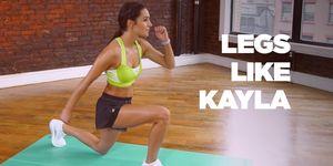 kayla itsines leg workout