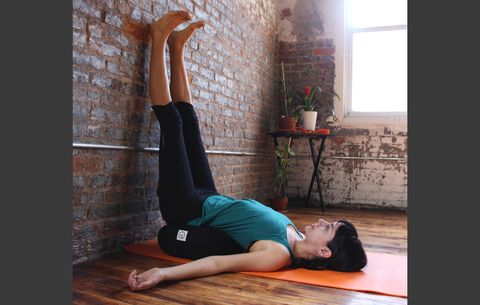 this yoga routine will reverse a day's worth of standing