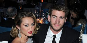 Miley Cyrus and Liam Hemsworth promise ring