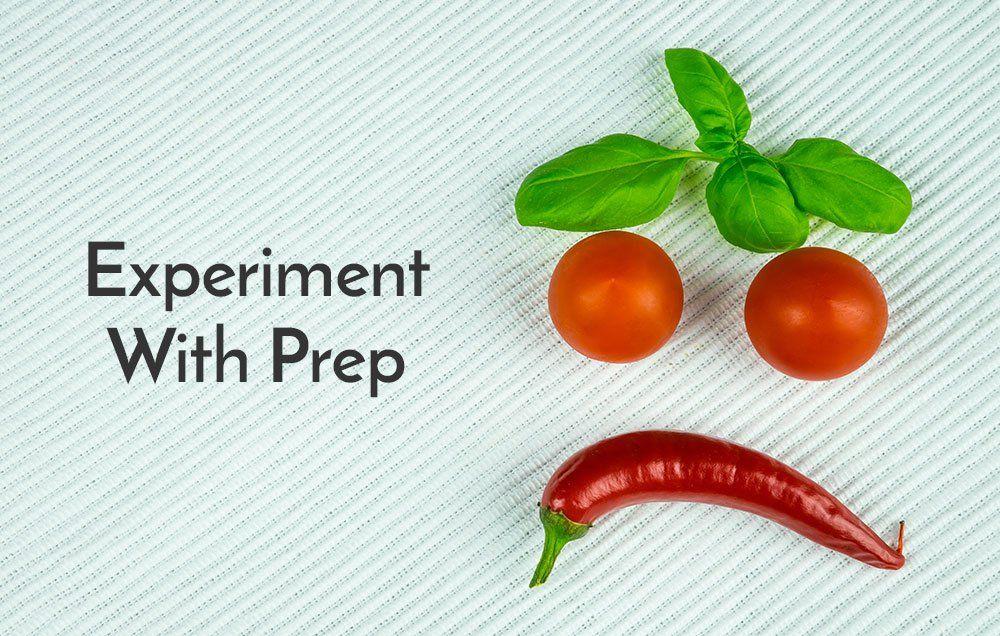 Practice different veggie prep