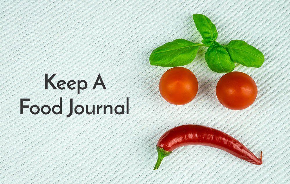 Keep a food journal