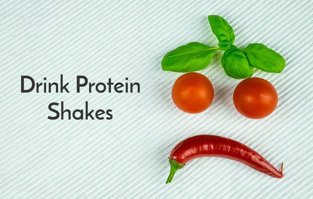 Swap a meal with a protein shake
