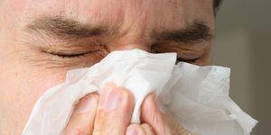 Man ruptures throat holding in sneeze