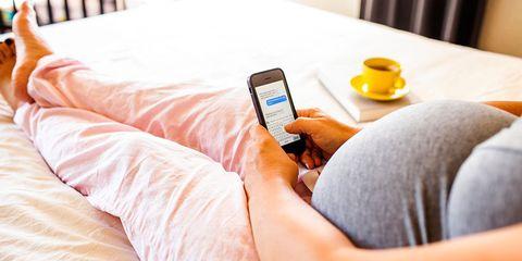maternity leave boss text reddit