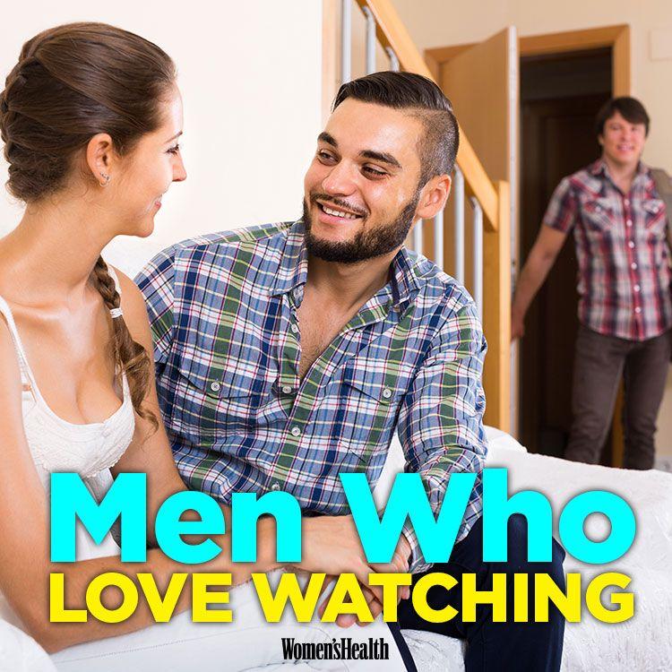 Watching wife flirt