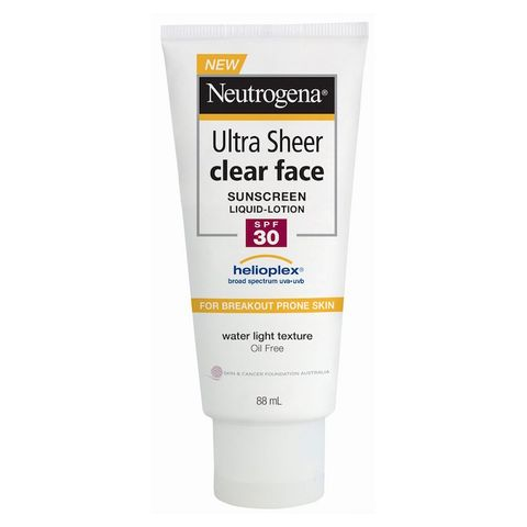 Neutrogena Clear Face Break Out-Free Liquid Lotion SPF 30