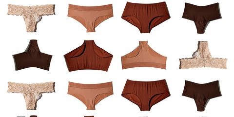 Nude underwear for every skin tone and shape