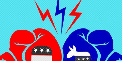 Political divide in relationships