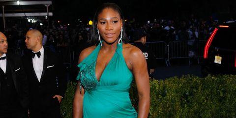 Serena Williams workout while pregnant