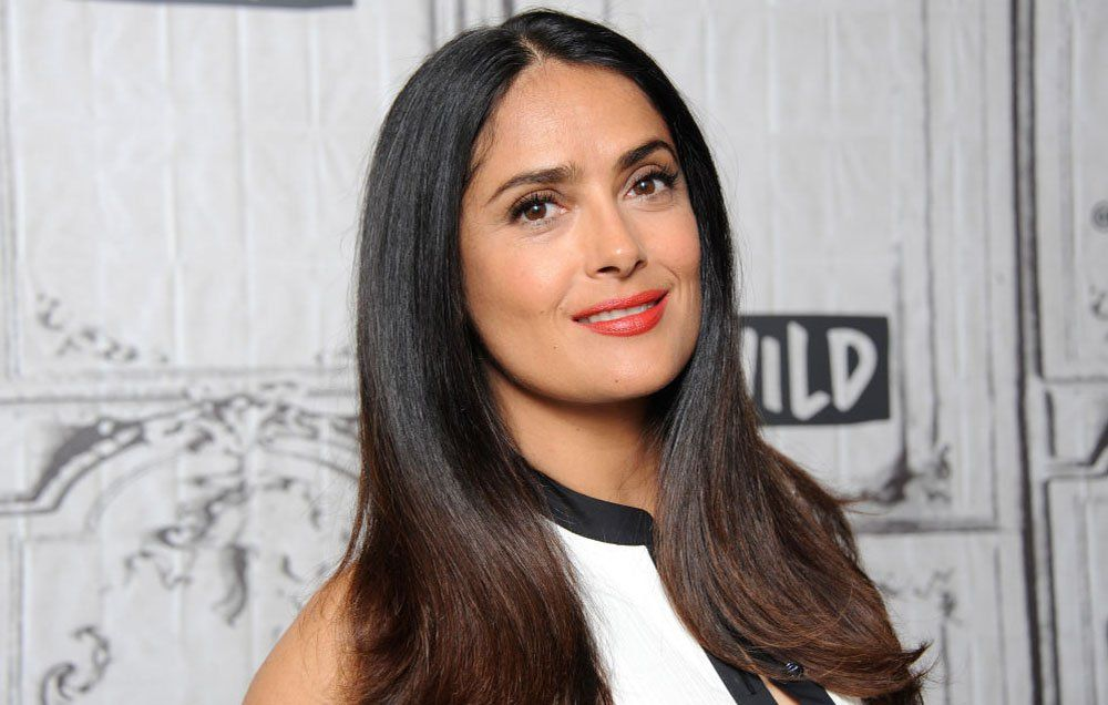 Salma Hayek Wants You To Put Smoothies On Your Face—Here's Why