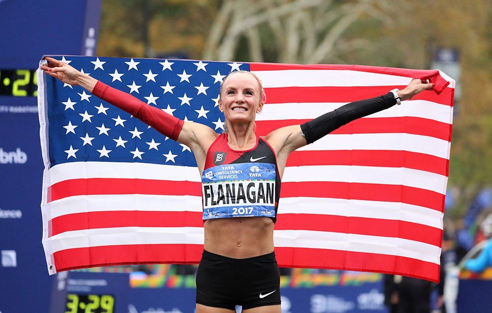 Shalane Flanagan Says Her Super Bowl Commercial With Chris Pratt Revealed Hes Definitely Not A Runner
