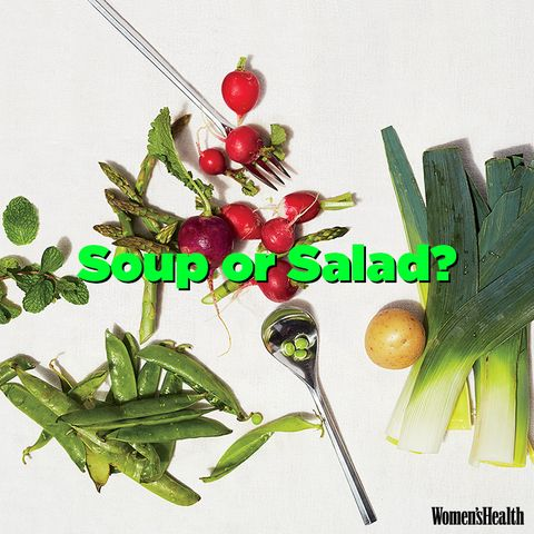 Soup or salad?