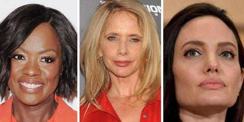 viola davis, roseanna arquette, angelina jolie talk about sexual assault