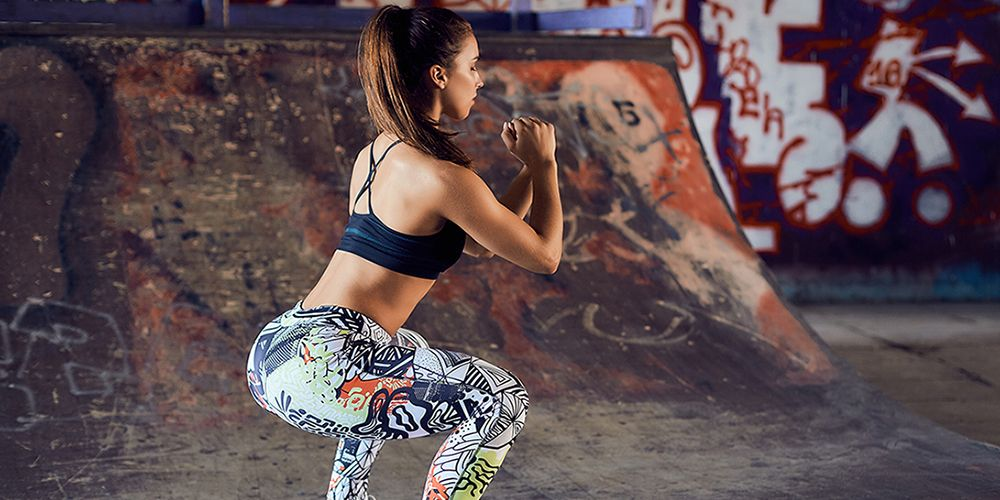 Exactly How to Use Squats to Lose Weight, Run Faster, and Get a Tighter Booty
