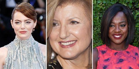 famous women who have failed viola davis arianna huffington emma stone