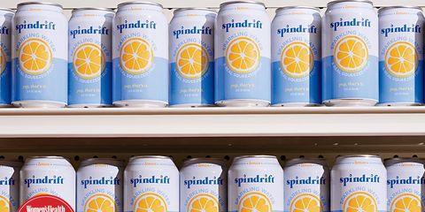 Healthy supermarket drinks