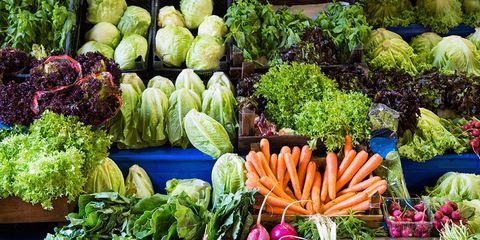 Most filling vegetables