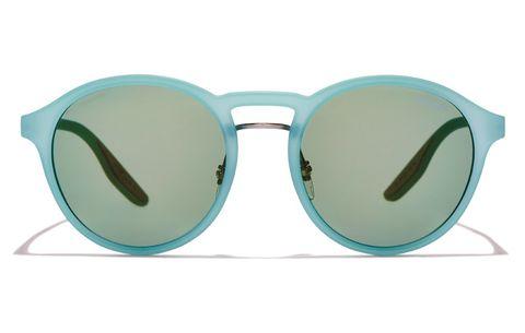 Prada Linea Rossa rubber sunglasses