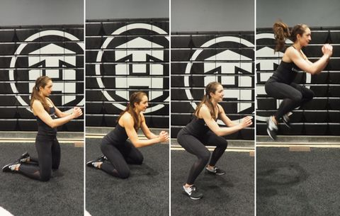 Plyo Knee-Up with Tuck Jump