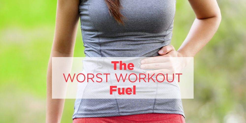 foods to never eat before workout