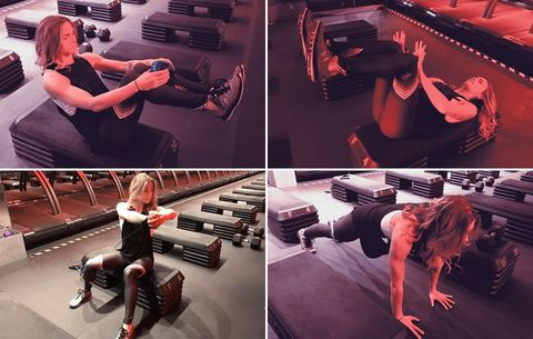 ​This Barry's Bootcamp Workout Will Work Your Core Like None Other