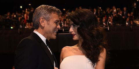 This is how George and Amal Clooney met