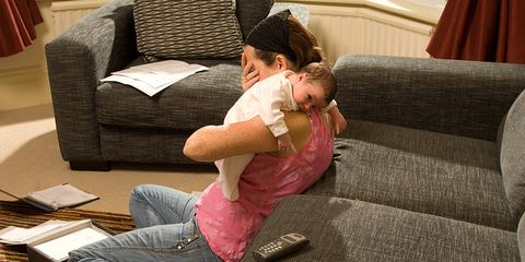 mom postpartum depression facebook viral photo