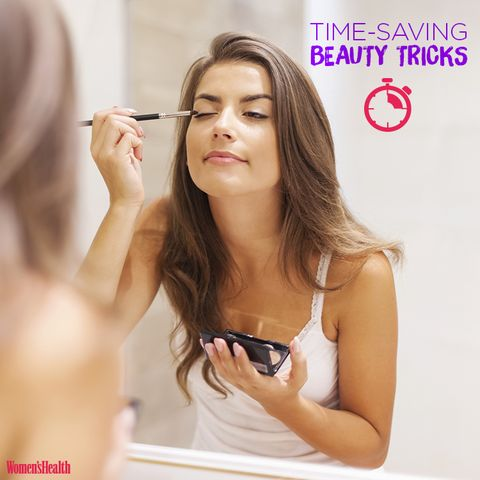 How to Slash Your Morning Beauty Routine in Half