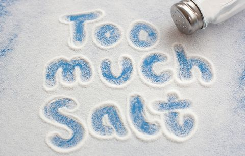 4 Major Signs You're Eating Too Much Salt