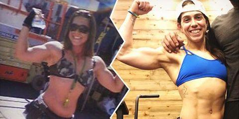 Lulu Faria fitness transformation