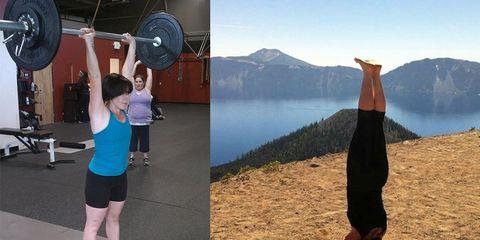 Annette Benedetti fitness transformation